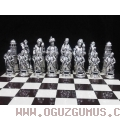Silver Plated Chess